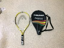 "Head Agassi 23"" Junior Tennis Racket With Cover in Kingwood, Texas"