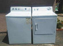 GE WASHER AND GAS DRYER in Vista, California