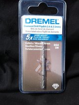 Dremel diamond flipbit drill bit in Travis AFB, California