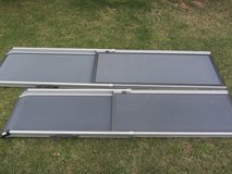 2-Solv-it telescoping aluminum dog ramps Large and XL in El Paso, Texas