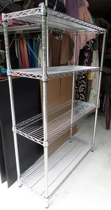 4-tier Chrome Shelving in Conroe, Texas