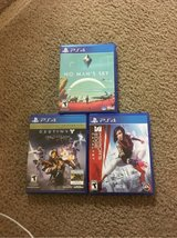PS4 games in Vacaville, California
