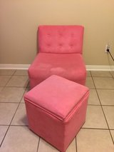 Chair and Ottoman in Kingwood, Texas