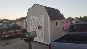 Storage shed in Fairfield, California