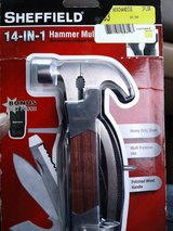 Sheffield 14 in 1 hammer multitool in Travis AFB, California