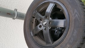 """16"""" TEC Rims with brand new all season tires in Ramstein, Germany"""