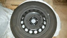4 Tires complete w/ Steelrims 195/60/R15 in Ramstein, Germany