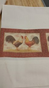 Set of 2 Rooster Curtains in Columbus, Georgia