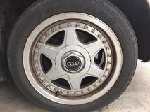 Audi Rims with Summer tires in Ansbach, Germany