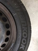 4 Hankook Winter Tires on Steel Rims in Ansbach, Germany