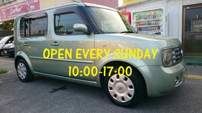 OPEN EVERY SUNDAY!! FREE RENTAL CARS AVAILABLE!! FIRST COME FIRST SERVE!! in Okinawa, Japan