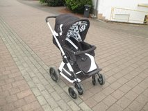 fancy stroller with accessories in Ramstein, Germany