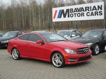2014 Mercedes C250 Coupe in Ramstein, Germany