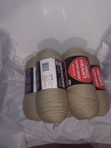 Yarn, new - 0330- Red Heart Super Saver -5 full skeins for $10! in Yucca Valley, California