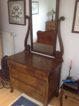 Early American dresser with mirror in Ramstein, Germany