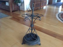 Antique and rustic umbrella stand in Ramstein, Germany
