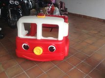 Toddler Fire Truck Bed in Ramstein, Germany