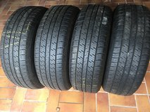Continental tires 235/60 -18 set of 4 in Ramstein, Germany