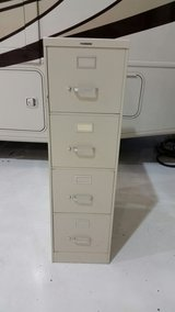 Two four drawer file cabinets in Glendale Heights, Illinois