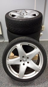 """22"""" OZ Wheels off a VW Touareg in Ramstein, Germany"""