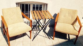 Porch chairs with table in Ramstein, Germany
