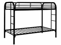 Black Metal Bunk Bed in Fort Irwin, California