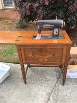 Antique Sewing Machine and Table in Fort Rucker, Alabama