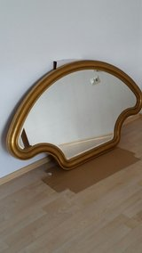 Large Wall Mirror (Gold Color ) size ( H 80 cm / W 138 cm ) in Stuttgart, GE