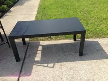 Black coffee table in Fort Campbell, Kentucky