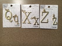 Letter Charms in Plainfield, Illinois