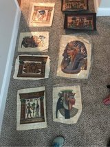 8x Papyrus art pieces in Fort Campbell, Kentucky