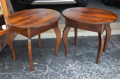 Wood end tables in Saint Petersburg, Florida