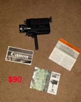 Canon 310 XL Super Movie Camera in Macon, Georgia