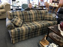 Plaid Sofa in Glendale Heights, Illinois