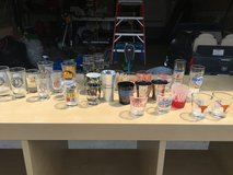 28 shot glasses from all over! in Fort Belvoir, Virginia