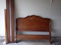 Vintage Full Size French Provincial Bed in Naperville, Illinois
