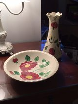 SOUTHERN POTTERIES BOWL AND VASE in Warner Robins, Georgia