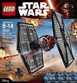 New in Sealed box Lego Star Wars First Order Special Forces Tie Fighter 75101 in Camp Lejeune, North Carolina
