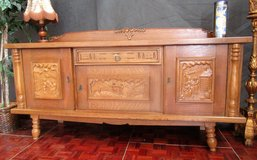 Flemish Sideboard with Pedestal in Ramstein, Germany