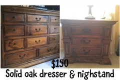 Dresser & nightstand in Camp Pendleton, California