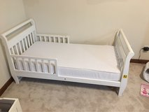 toddler bed and mattress in Naperville, Illinois