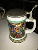 Beer mug with tin cap Steinkrug 0,5l in Ramstein, Germany