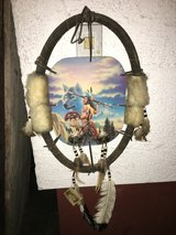 Native indian wall decoration in Ramstein, Germany