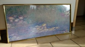 Monet's Print with Frame in Ramstein, Germany