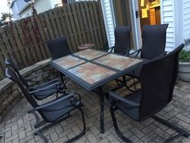 7pc Patio Set in Naperville, Illinois