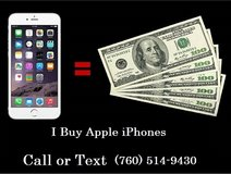 Sell your Working or non working iPhone in Temecula, California
