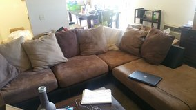 Sectional couch- must go today. You pick up in Camp Pendleton, California