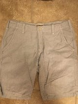 Men's express chambray shorts size 31 in Chicago, Illinois