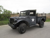 1953 Dodge M37 4x4 Military Truck in Naperville, Illinois