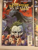 Detective Comics 1-40 + 0 Issue and Annuals all 1st Print, Excellent Condition, New 52 in Temecula, California
